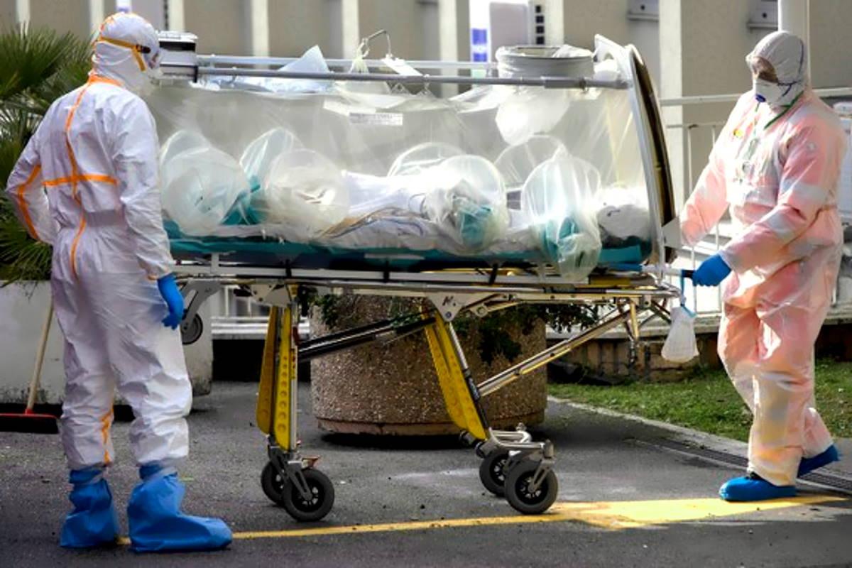 27 marzo: in Italia 969 i morti con coronavirus in sole 24 ore