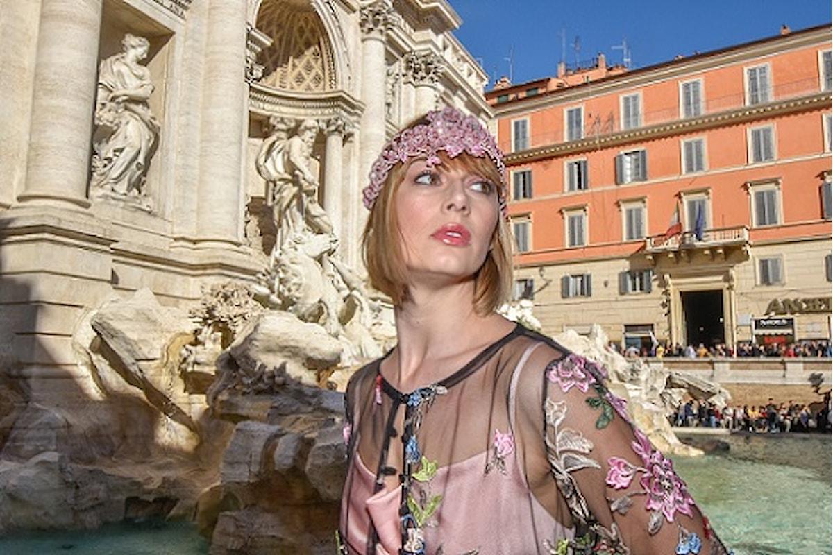 """Fabiana Gabellini sceglie la top model Andreea Duma per presentare le sue """"opere d'arte in movimento""""…"""