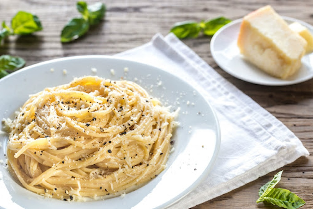 Spaghetti senza glutine, cacio pepe e lime