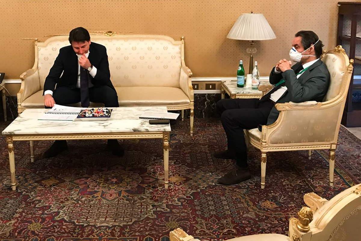 La visita del premier Conte in Lombardia, la regione più colpita dalla pandemia