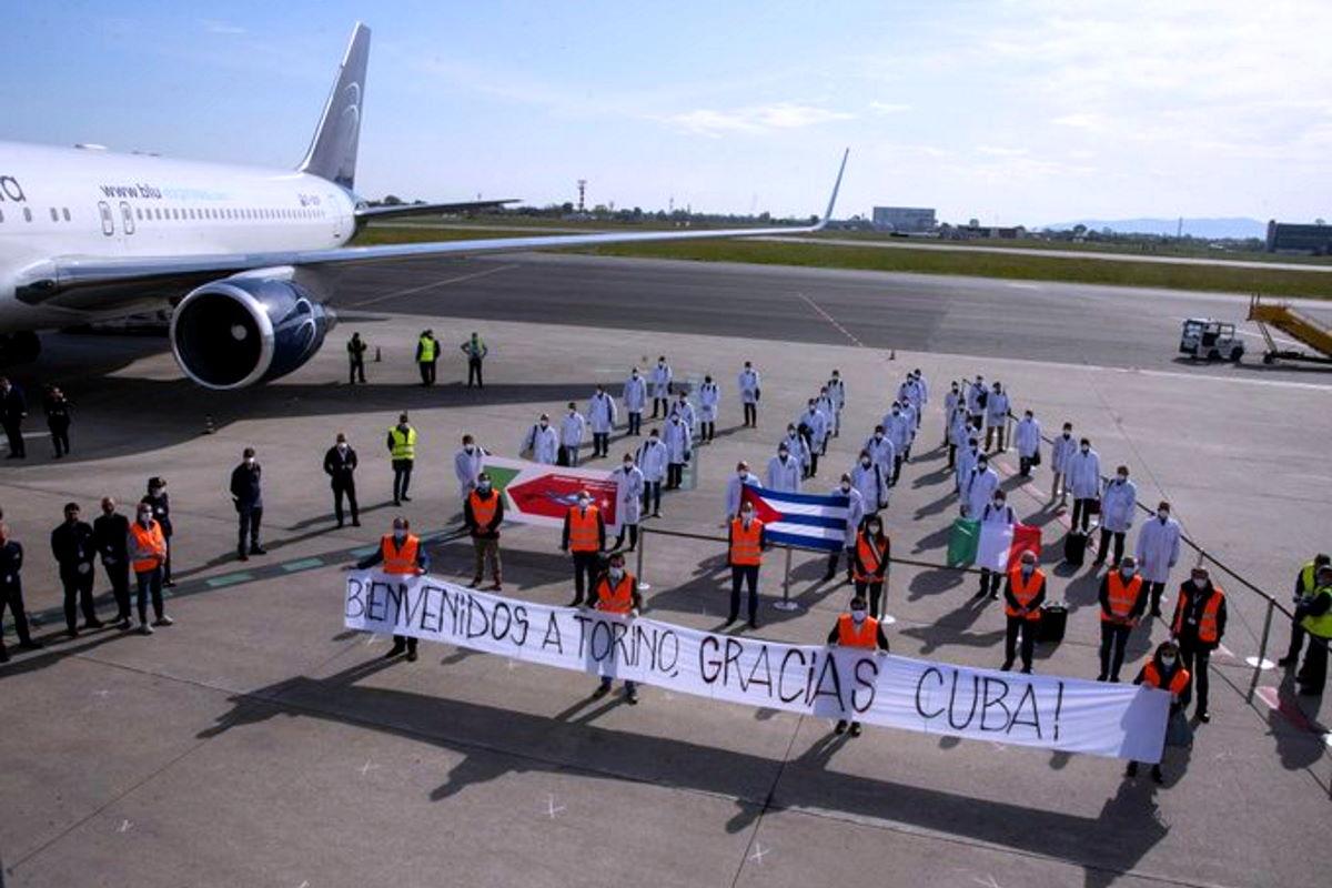 Cuba invia una seconda brigata medica in Italia, opererà in Piemonte