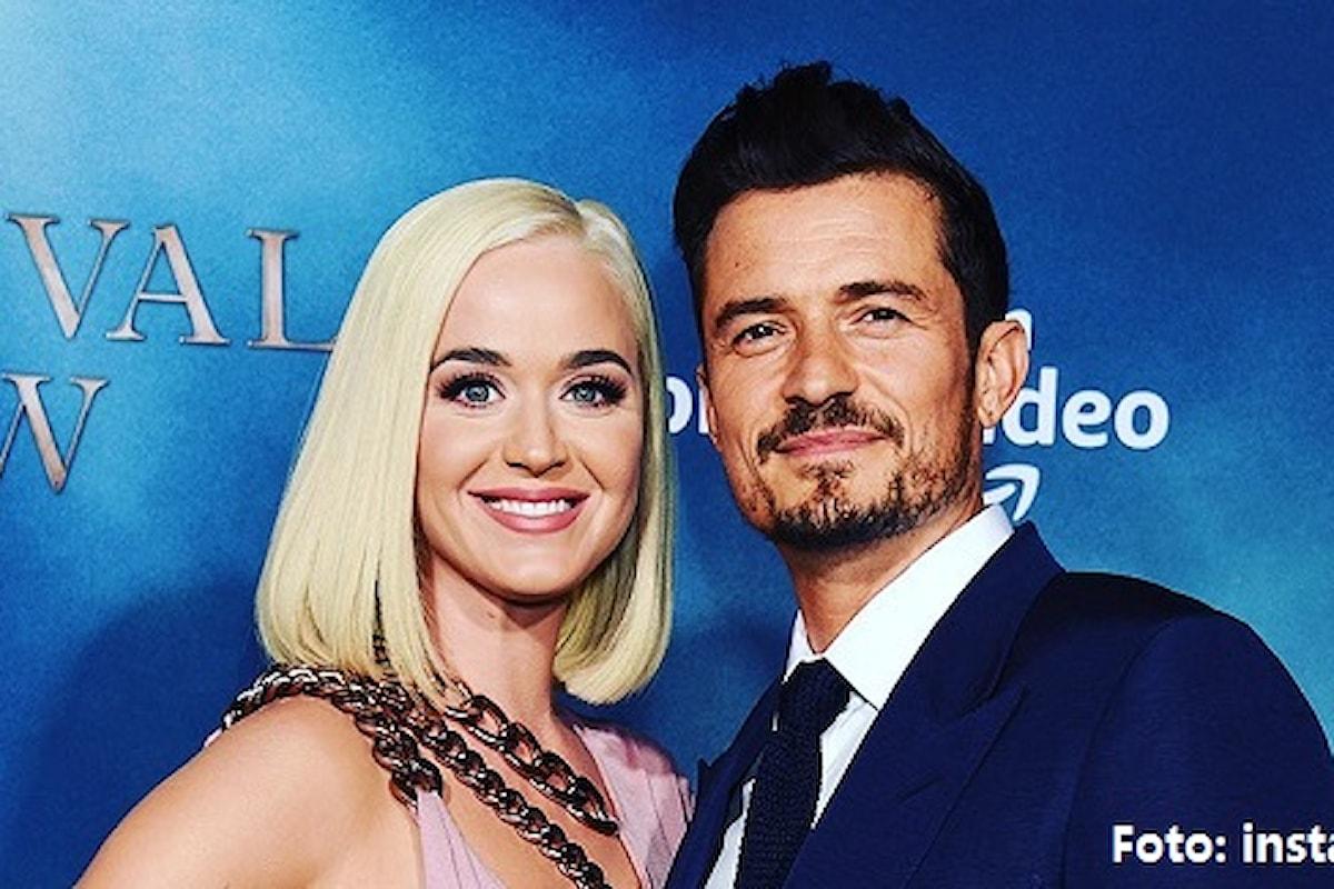 Katy Perry e Orlando Bloom annunciano di aspettare una bambina