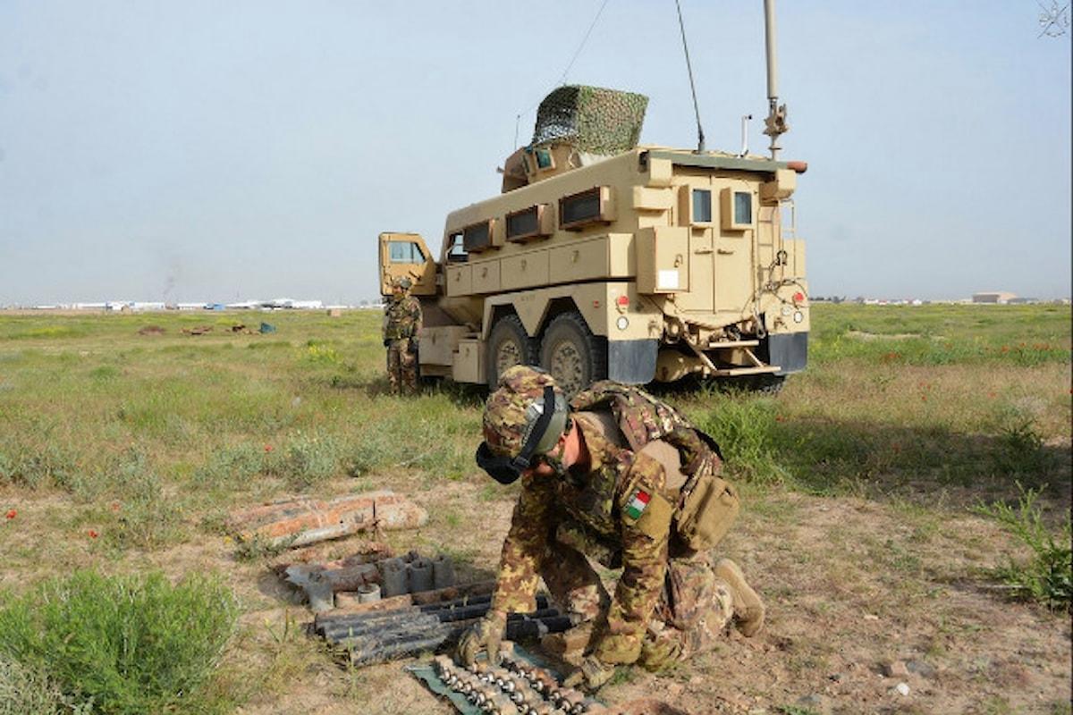 Afghanistan, militari italiani neutralizzano ingente quantitativo di munizionamento