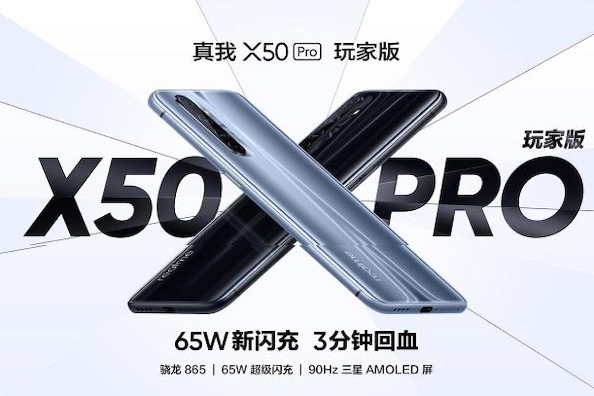 Realme X50 Pro Player Edition è stato presentato ufficialmente: un sobrio smartphone da gaming