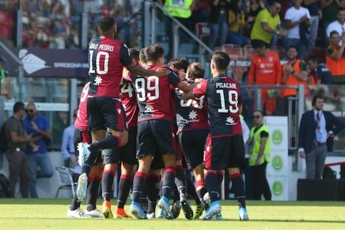 Le statistiche di SPAL - CAGLIARI 8.va di ritorno della stagione 2019/2020