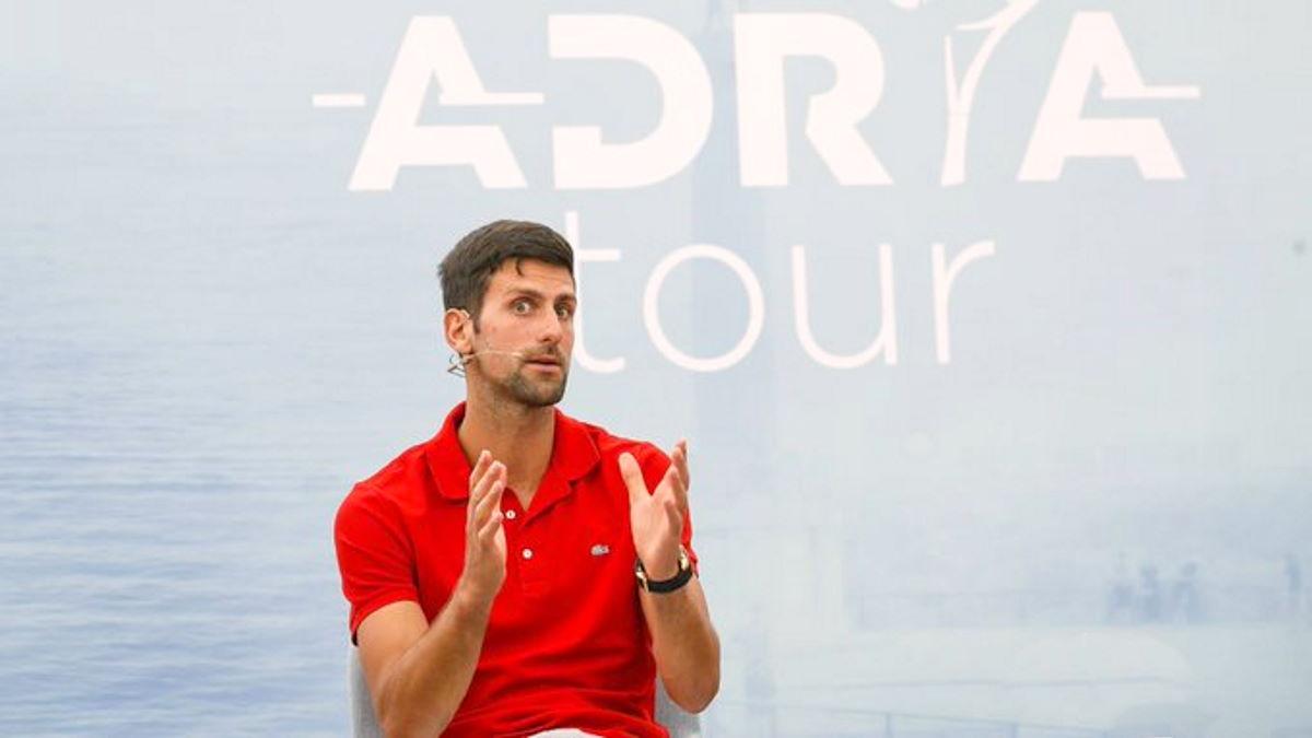 Il numero uno al mondo del tennis, Novak Djokovic, risultato positivo al Covid-19