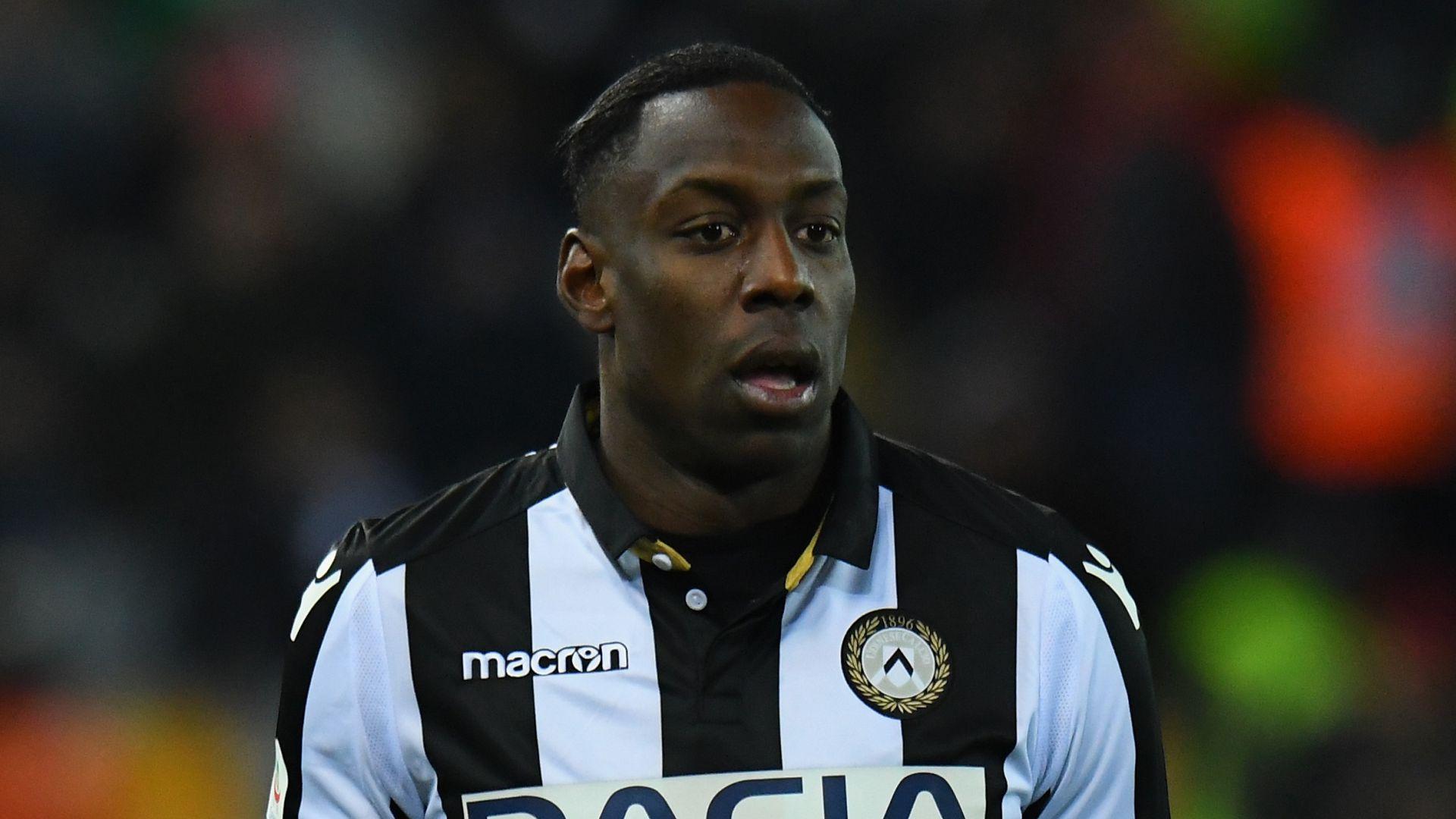 L'attaccante dell'Udinese Stefano Okaka scalpita per la ripresa del campionato. Queste le sue parole
