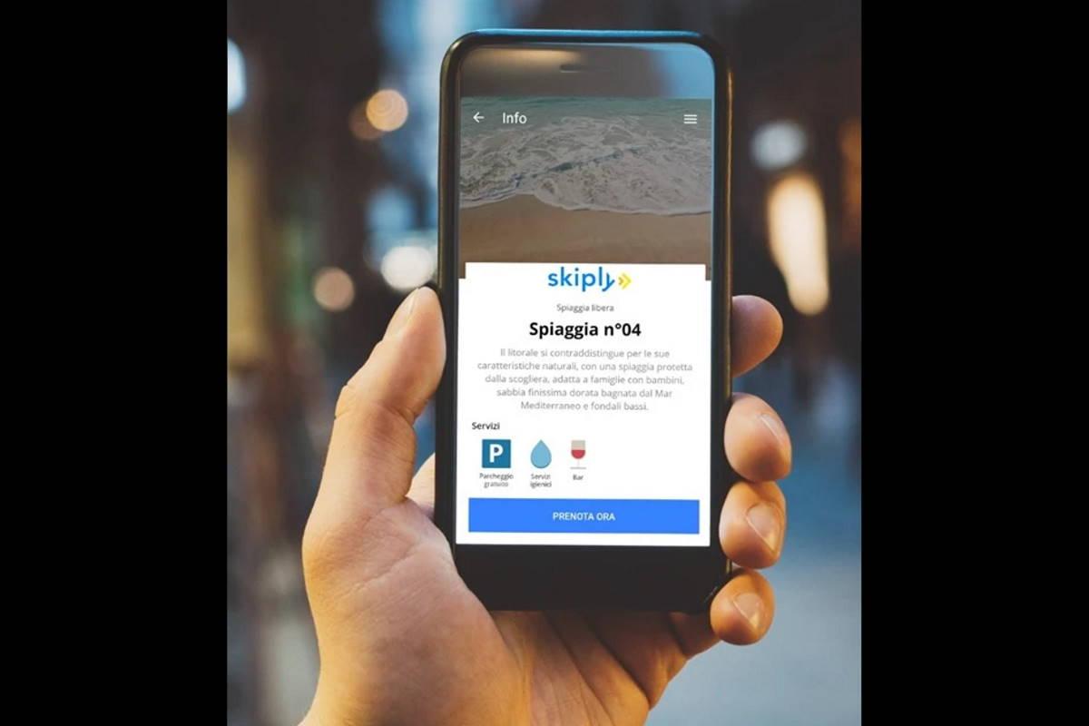 SKIPLY, l'App che porta l'Italia al mare