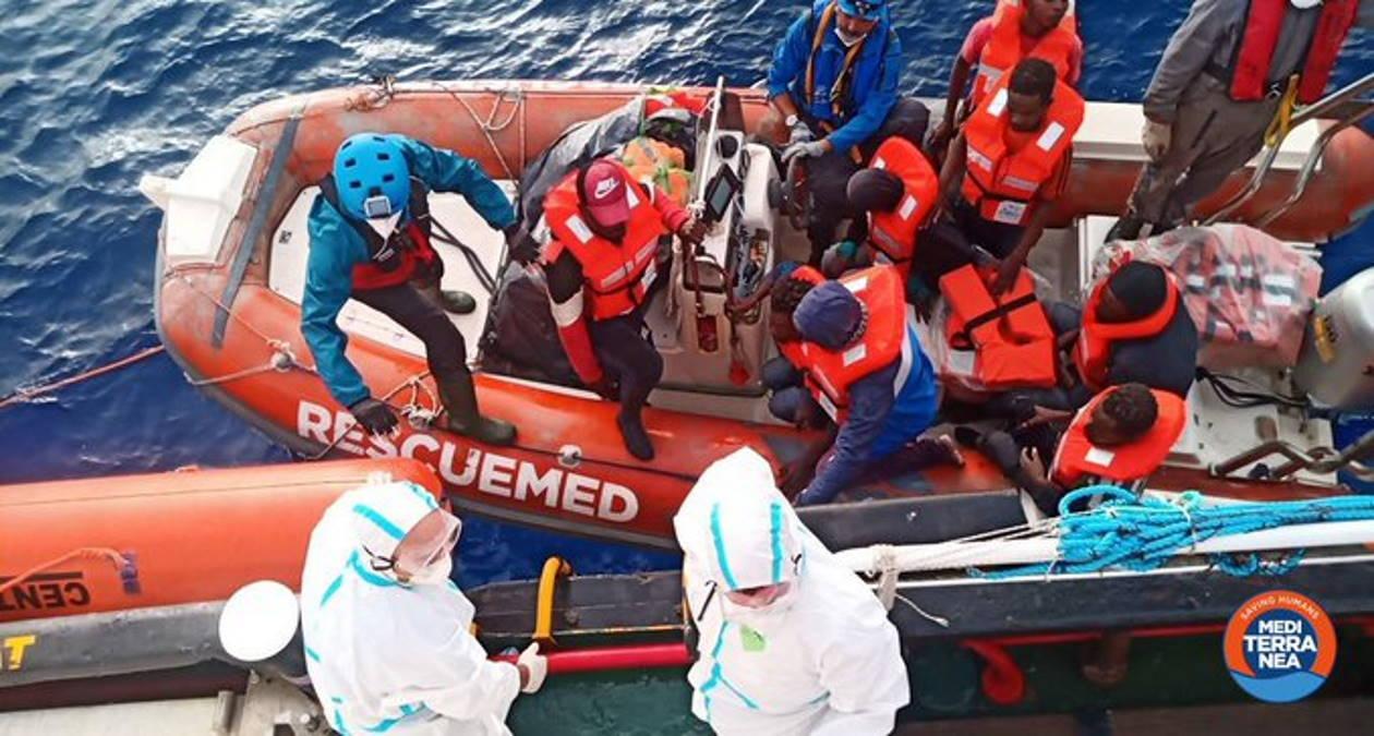 Quasi 300 persone salvate nel Mediterraneo negli ultimi due giorni dalle navi Sea-Watch e Mare Jonio