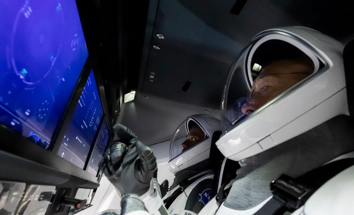 La diretta del ritorno sulla Terra della Crew Dragon