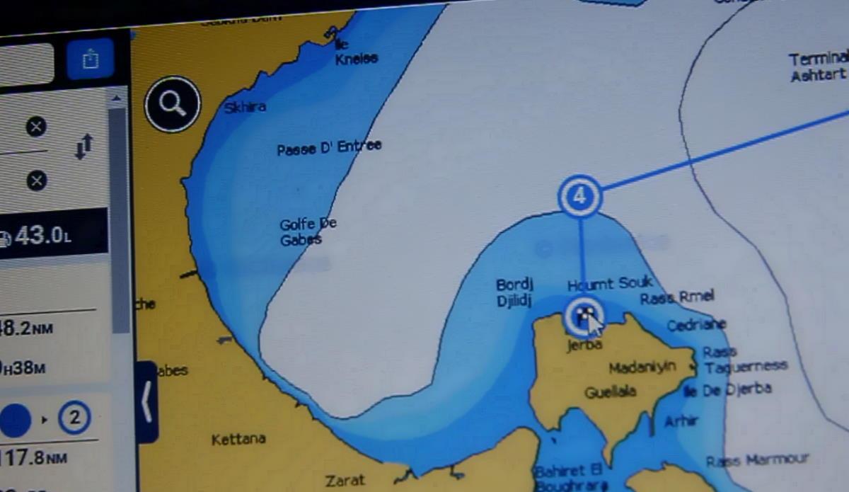 Come andare a vela da Hammamet all'isola di Djerba