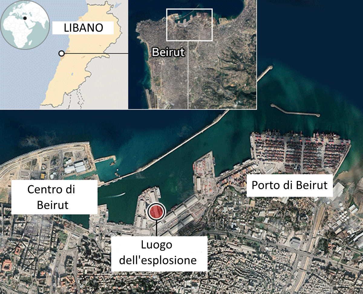 Beirut, ecco che cosa ha provocato l'esplosione che ha causato forse fino a 200 vittime