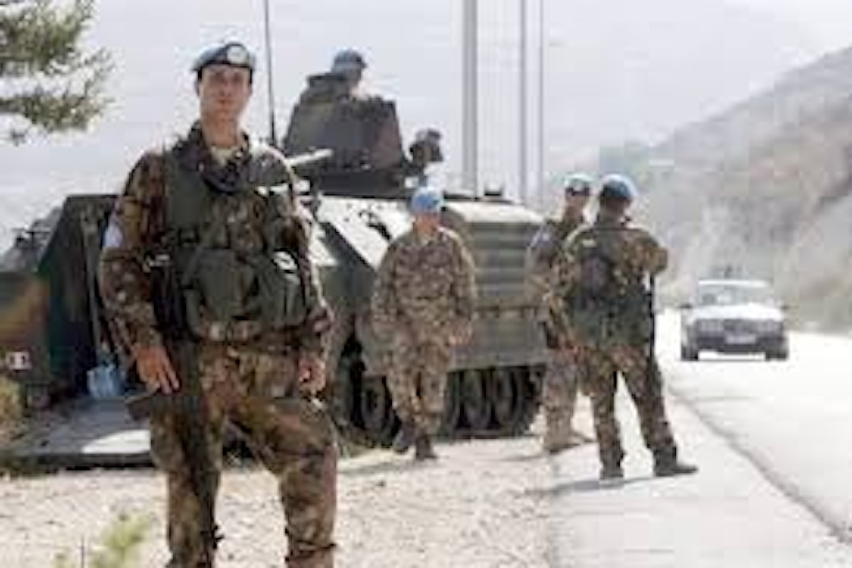 Libano: un militare italiano di UNIFIL è rimasto ferito nell'esplosione al porto di Beirut