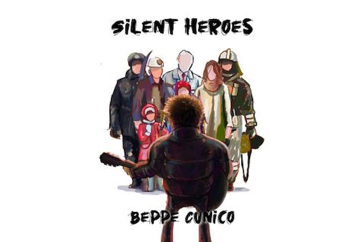 """Beppe Cunico, """"SILENT HEROES"""" è il singolo d'esordio del cantautore e batterista vicentino"""