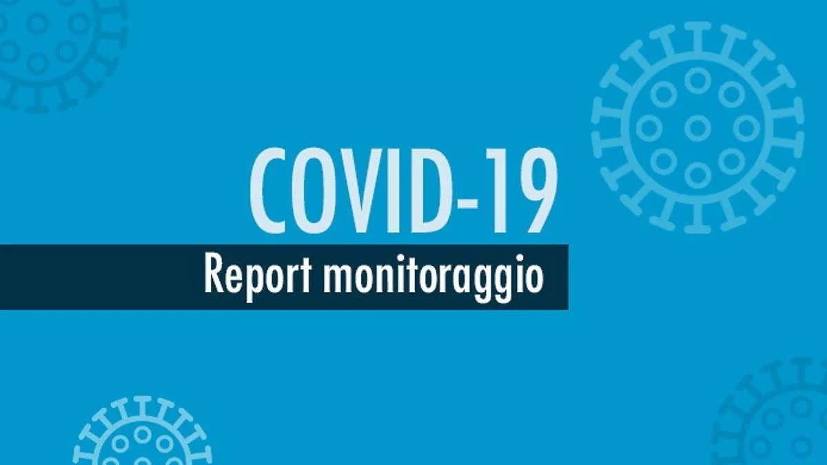 Report monitoraggio Covid dal 14 al 20 settembre