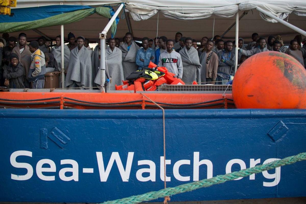 E adesso l'Italia ha deciso di impedire di riprendere il mare anche alla Sea-Watch 4