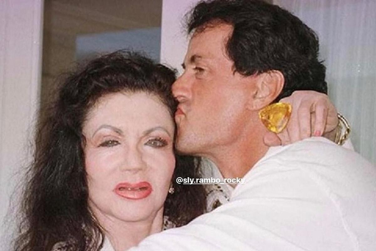 Sylvester Stallone: è morta sua madre Jackie, aveva 98 anni