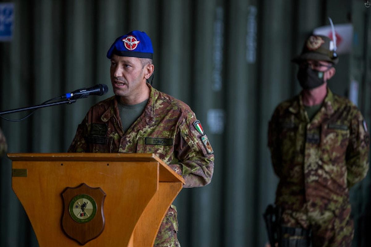 Afghanistan. Passaggio di consegne alla Fenice, così il colonnello Tonon ai militari italiani: Sono fiero di voi, avete rappresentato al meglio l'Italia