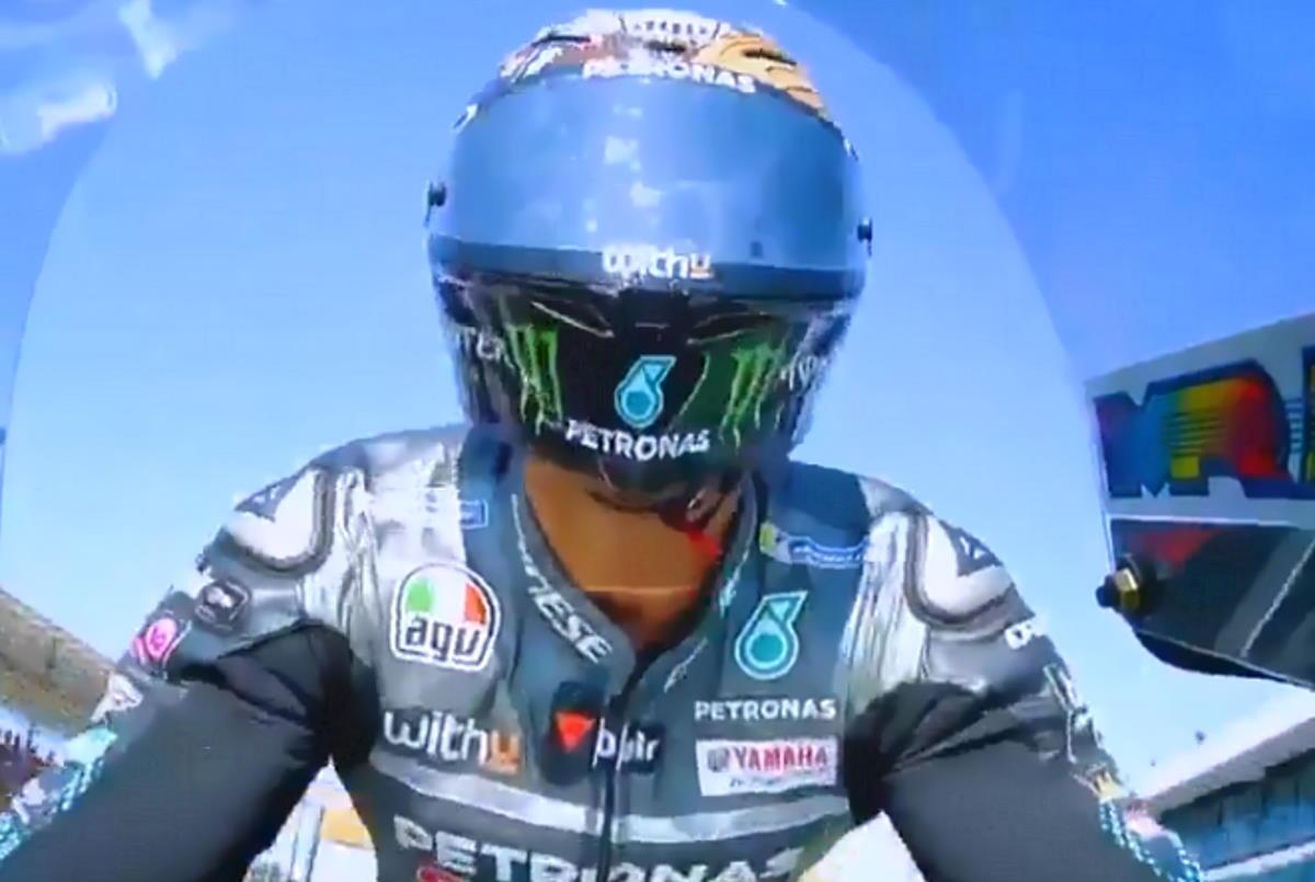 A Misano Morbidelli si aggiudica il primo gran premio in MotoGP