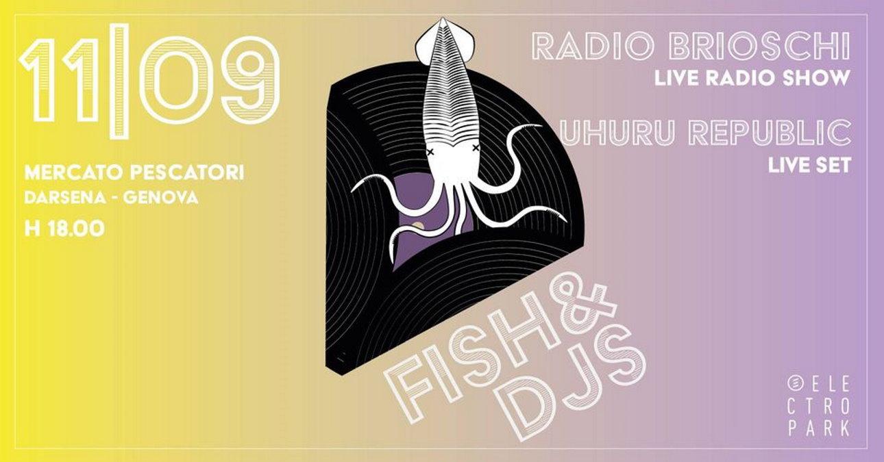 Musica elettronica e suoni africani: Uhuru Republic protagonisti del quinto EPsodio di Fish & Djs