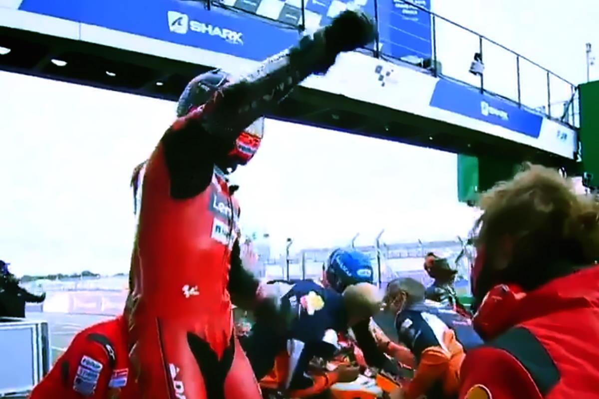 MotoGP, è Petrucci a vincere il GP di Francia davanti ad un sorprendente Alex Marquez