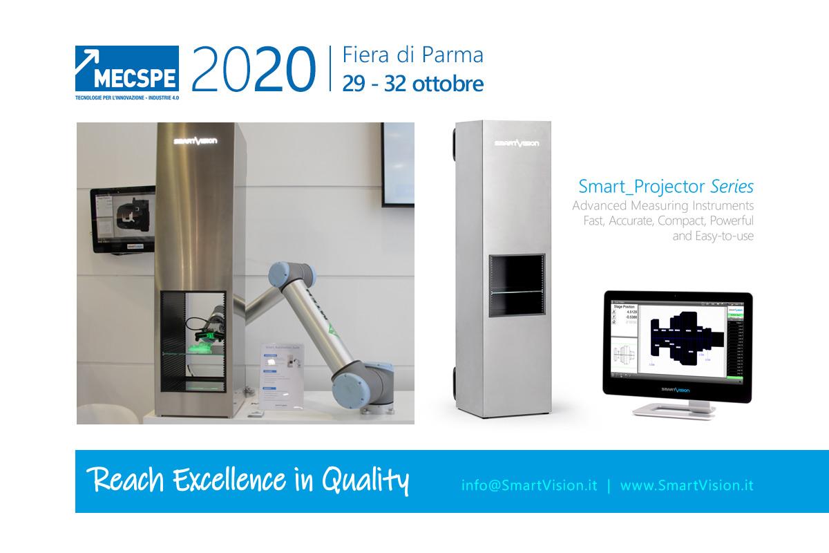 MECSPE 2020: Soluzioni d'Ispezione, Identificazione e Controllo Dimensionale per l'Industria Manifatturiera