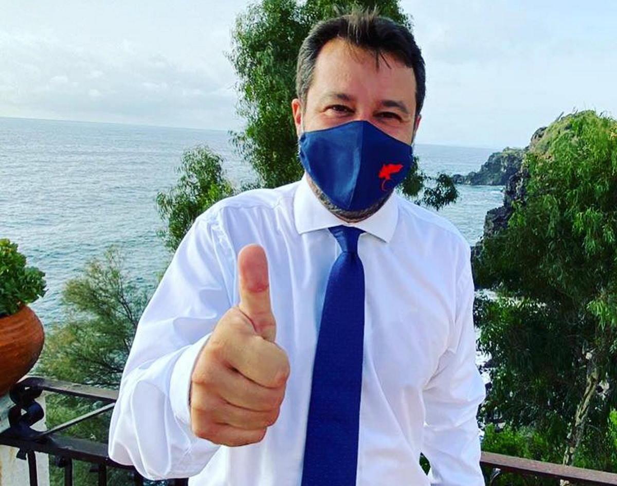 La coerenza di Salvini e del Governo prossimamente a processo a Catania