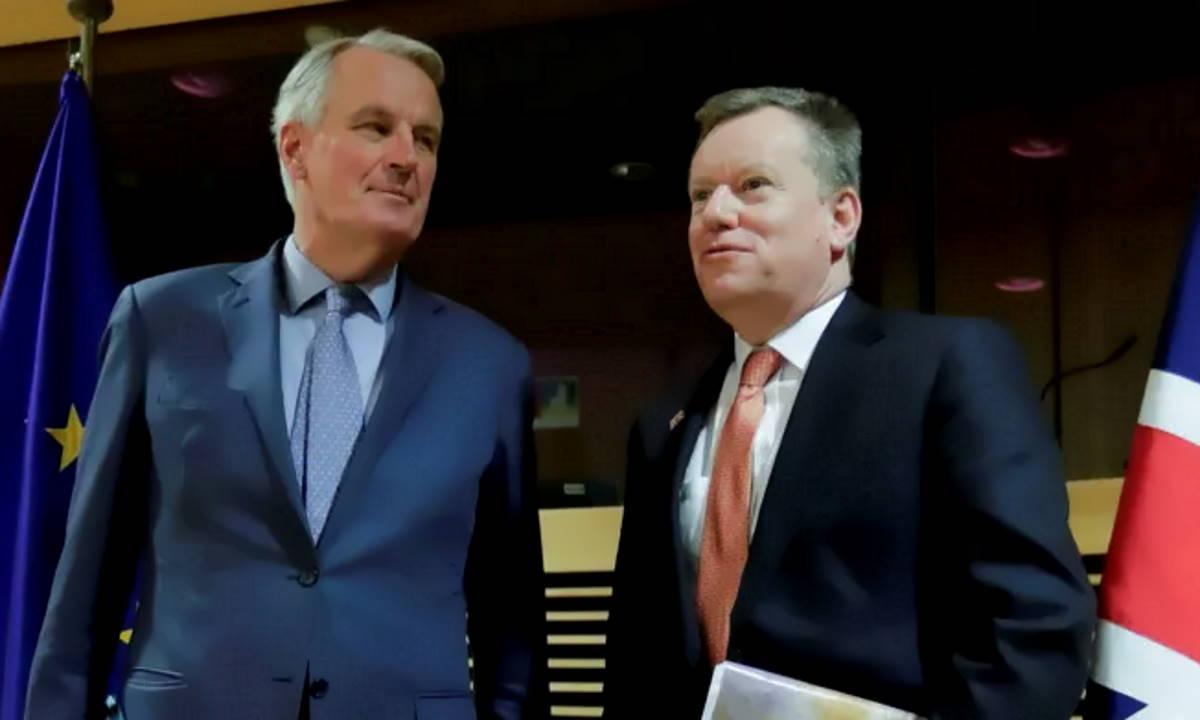 Riprendono i colloqui sulla Brexit tra Uk e Ue a meno di 40 giorni da un possibile no deal