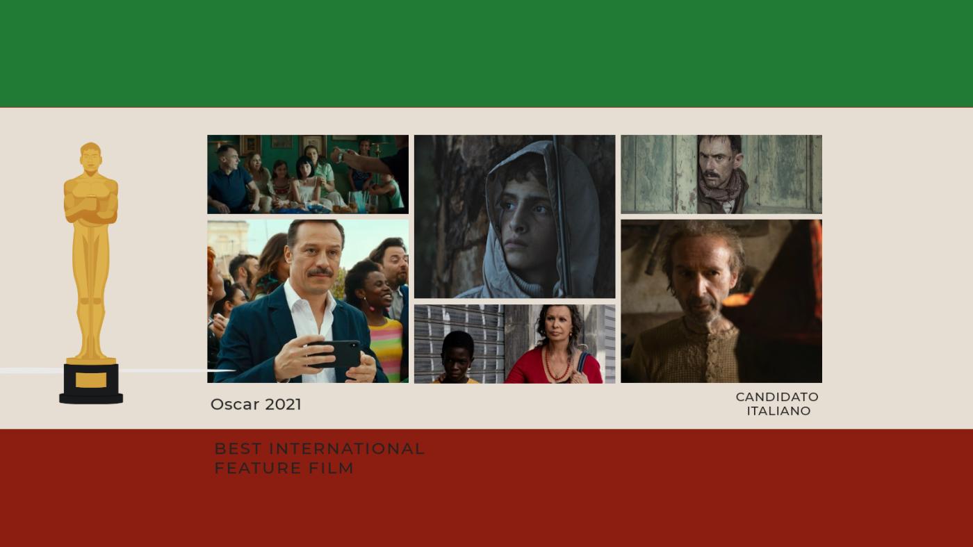 Oscar 2021: quali sono i film italiani in lizza per la candidatura?