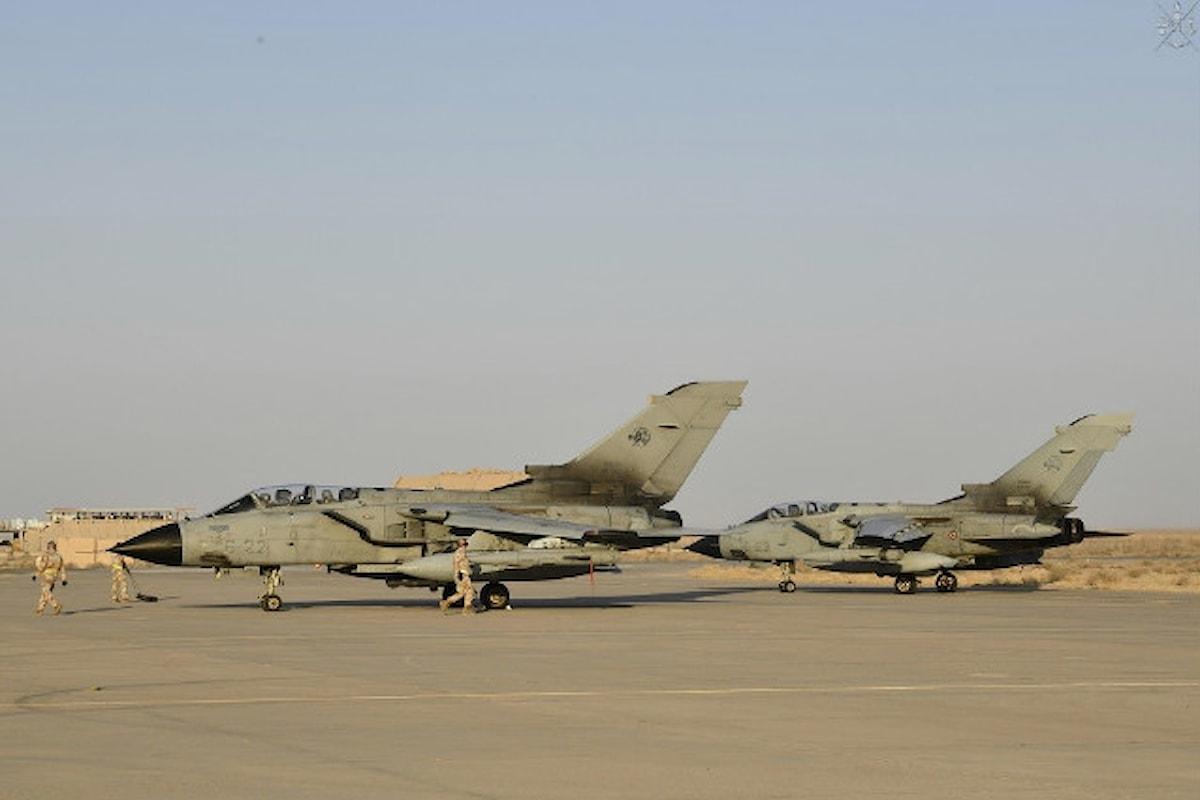 Kuwait: i Tornado italiani a supporto dell'Operazione Inherent Resolve tagliano il traguardo di 500 ore di volo