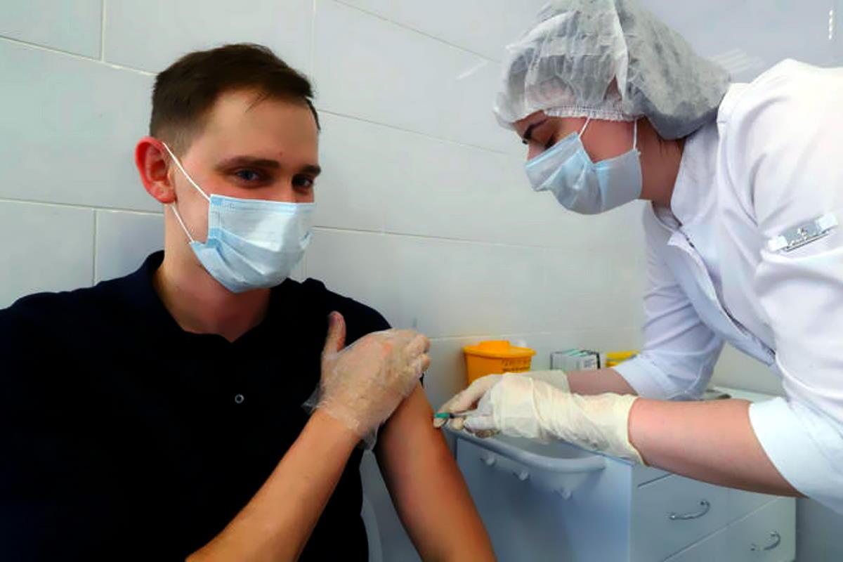 A Mosca è iniziata la vaccinazione anti Covid con il vaccino Sputnik V