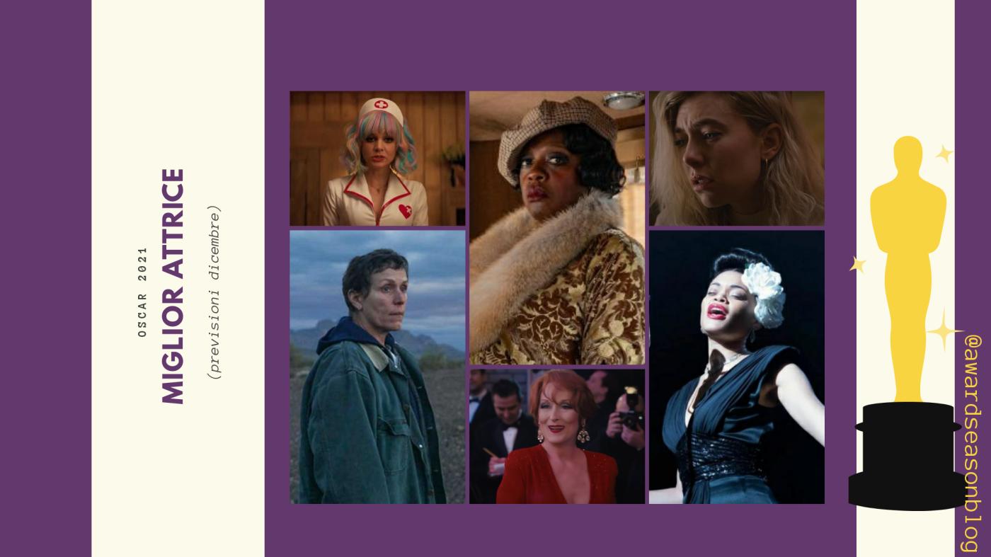 Oscar 2021: quali sono le 10 migliori attrici da tenere d'occhio? (previsioni dicembre)