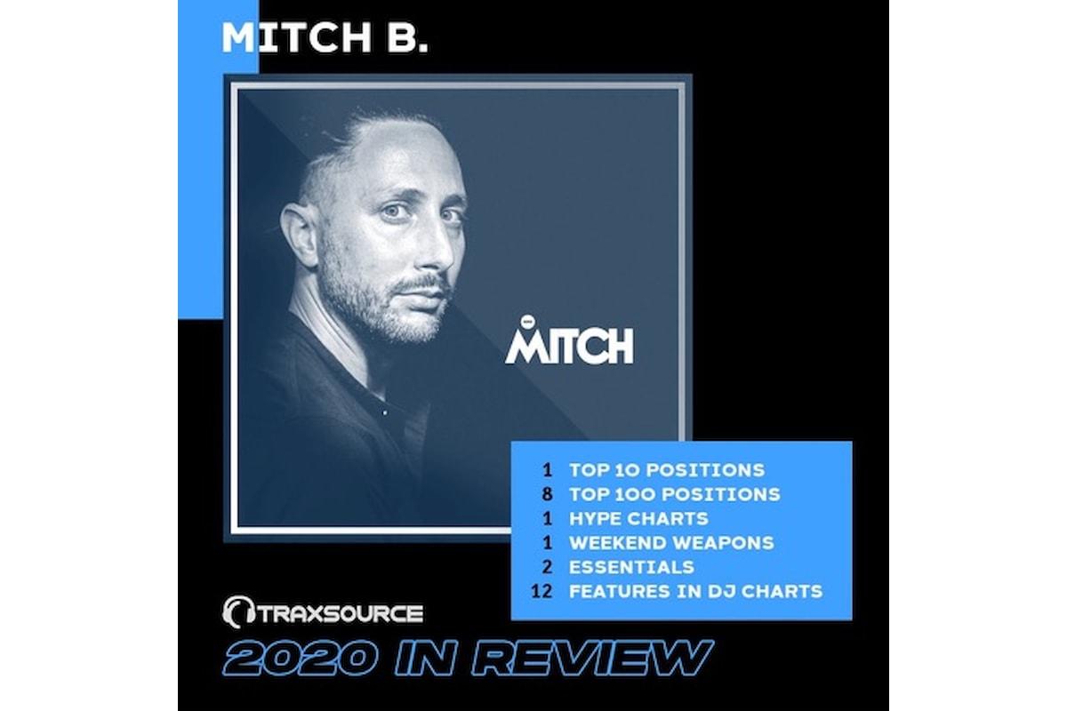 Mitch B.: ottimi risultati quest'anno su Traxsource e Spotify. E ogni domenica a pranzo dj set al White Beach - Cervia