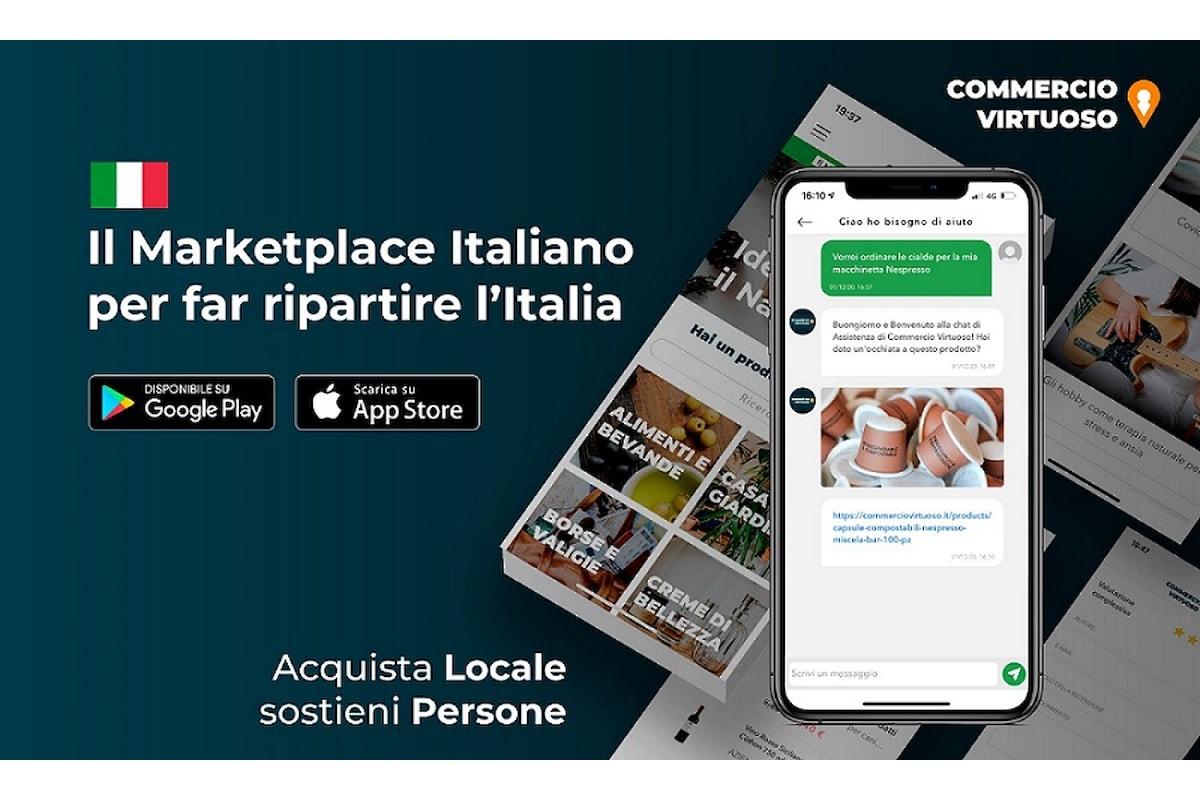 Milazzo (ME) - Commercio Virtuoso lancia l'App per dispositivi Apple e Android