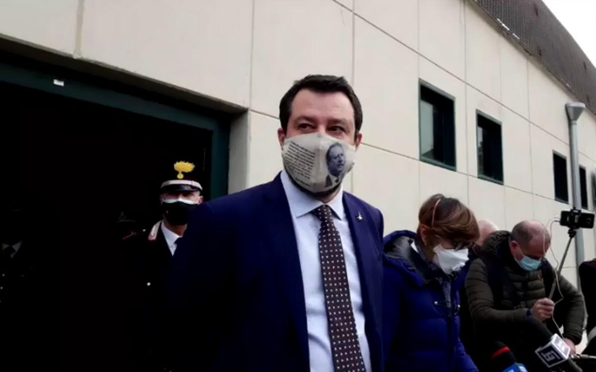 Salvini a Palermo: non processate me, ma la Open Arms