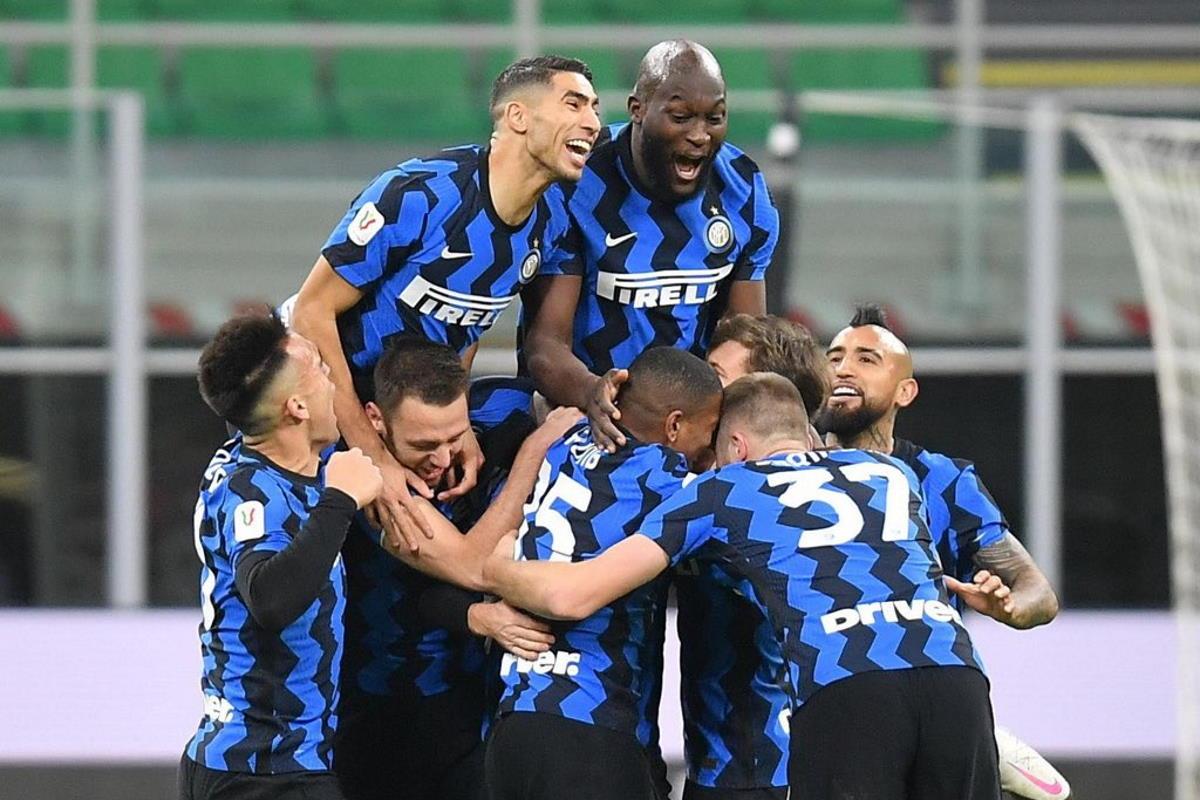 L'Inter batte 2-1 il Milan e si qualifica alle semifinali di Coppa Italia 2020/2021