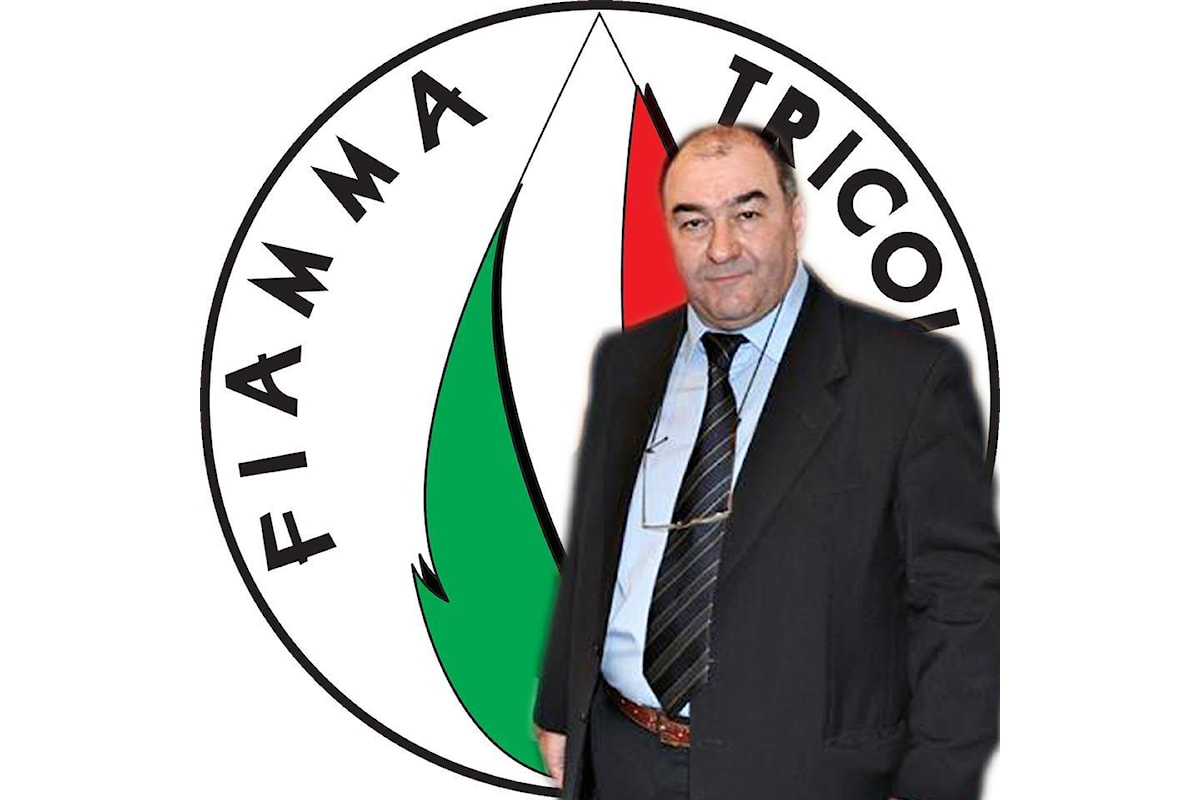 L'On Romagnoli e i Missini in FdI