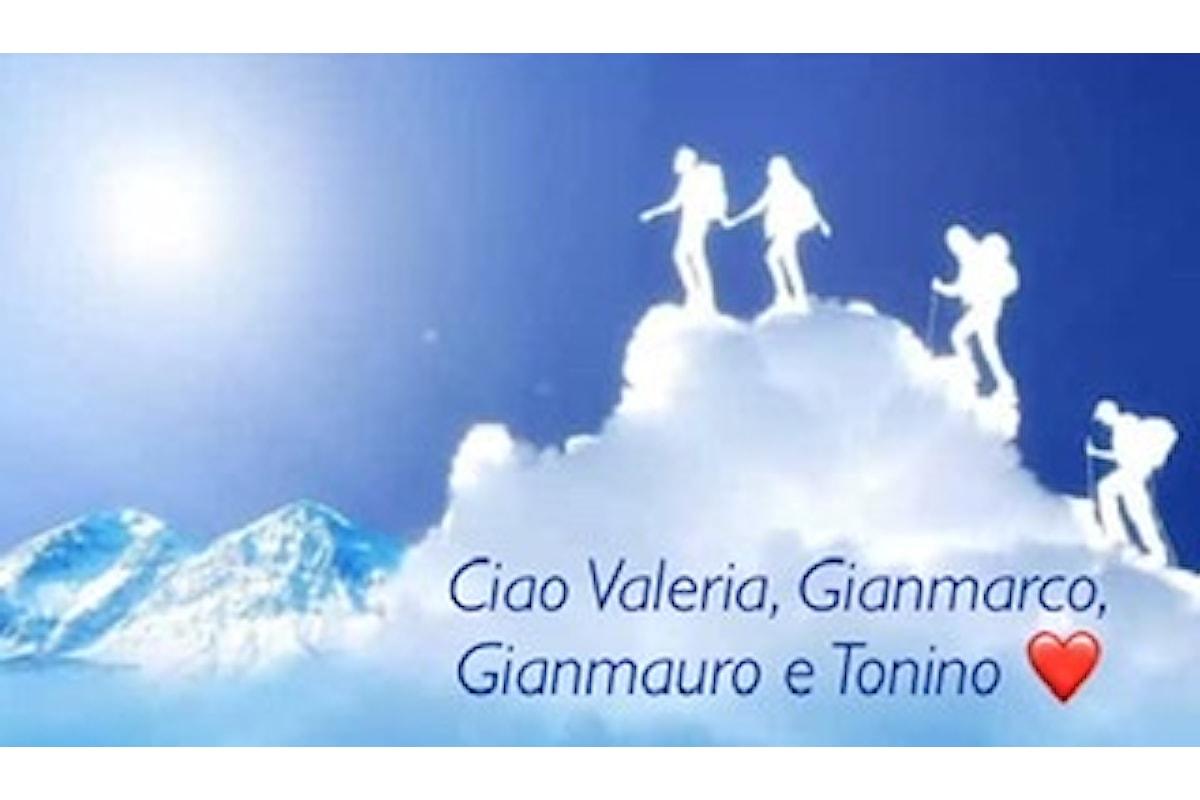 L'Abruzzo piange Valeria, Gianmarco, Gianmauro e Tonino e durante i funerali un altro intervento sul Monte Velino