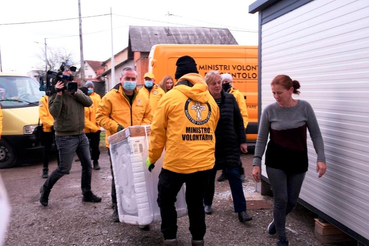 Terremoto in Croazia. Continuano gli aiuti da Padova e dall'Italia