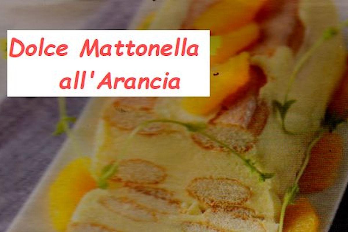 Preparazione e ingredienti del dolce Mattonella all'arancia
