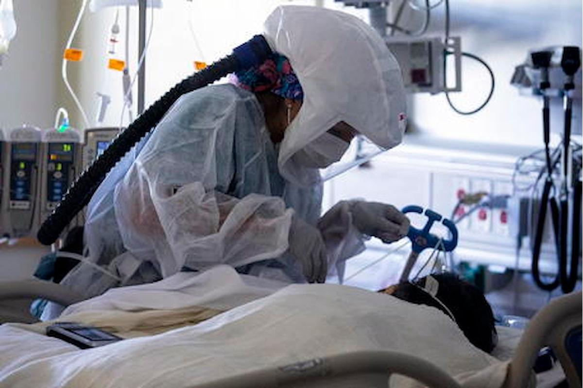 Stati Uniti: 99.488 nuovi casi di coronavirus e ulteriori 5.459 decessi legati alla Covid