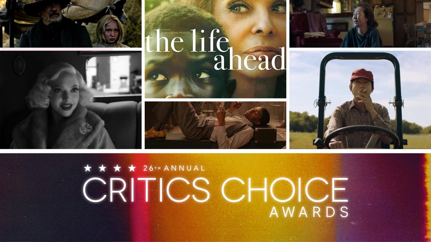Critics' Choice Awards 2021: Mank e Minari guidano le nominations. L'Italia a quota 3