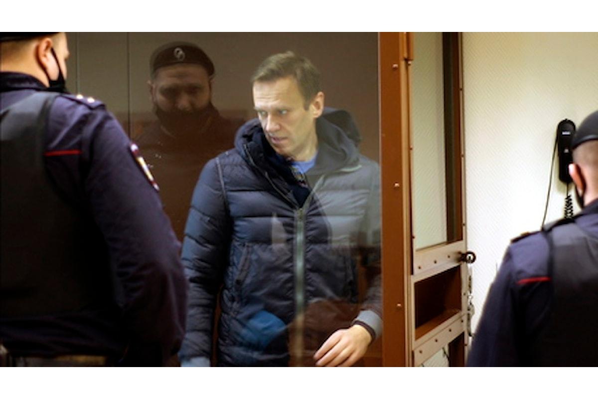La Corte europea dei diritti umani chiede la liberazione immediata di Alexey Navalny
