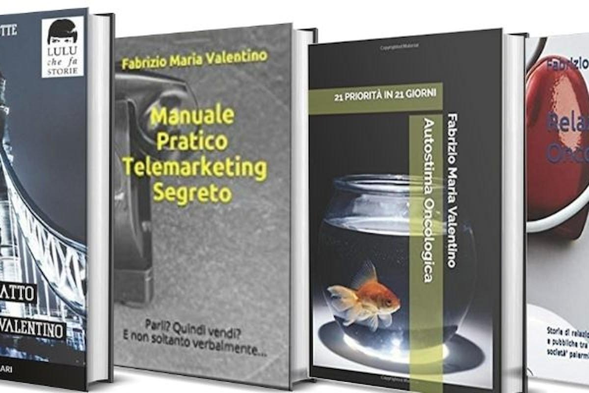 Fabrizio Maria Valentino: romanzi erotici e sessualità oncologica