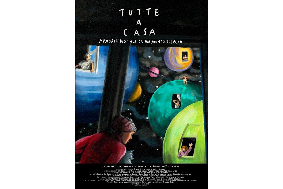 Il documentario Tutte a casa, memorie digitali da un mondo sospeso in onda l'8 marzo su La7D (canale29)