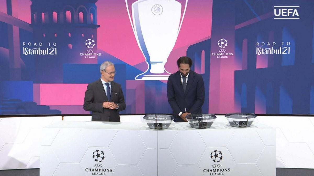 Questi gli accoppiamenti ai quarti e alle semifinali della Champions League 2020/2021