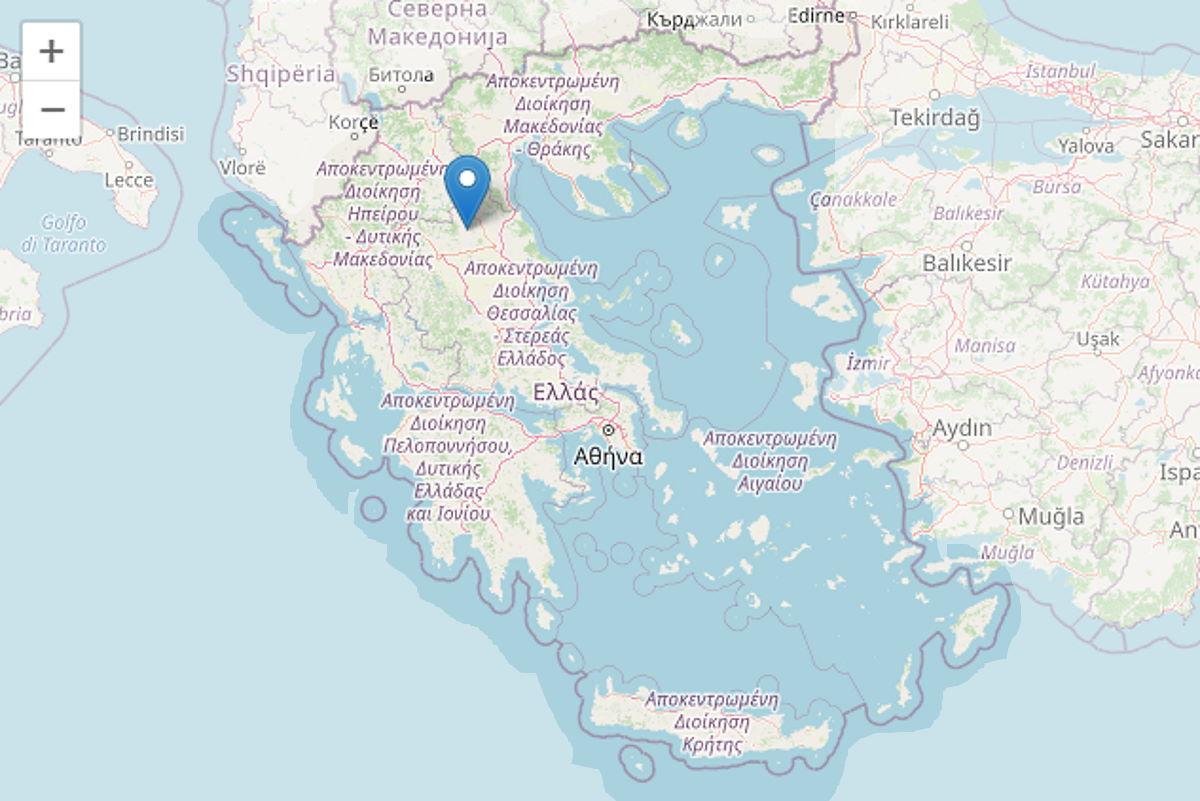 Forte scossa sismica in Grecia: con il terremoto che ha fatto registrare una magnitudo di 6.3