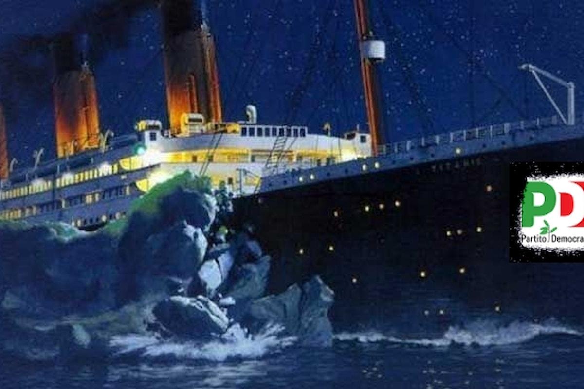 Un iceberg per il Titanic-PD