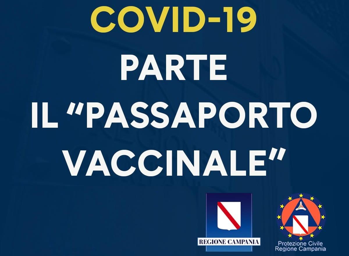 De Luca introduce il passaporto vaccinale per i campani: esperimento utile ma evitiamo facili entusiasmi