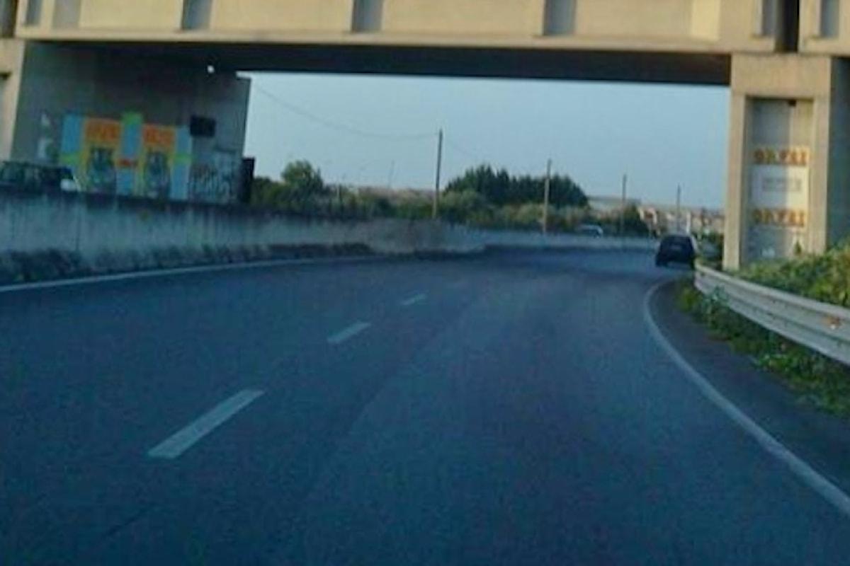 Milazzo (ME) - Asse viario interdetto al transito dei mezzi pesanti